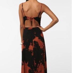 Urban Outfitters Dresses - Tie-dye cut out maxi dress